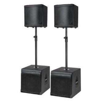 DAP-Audio DLM Pair Speaker Set Active 4000w RMS Celestion | Sound | PA Speakers | DAP Audio | Lighthouse Audiovisual UK